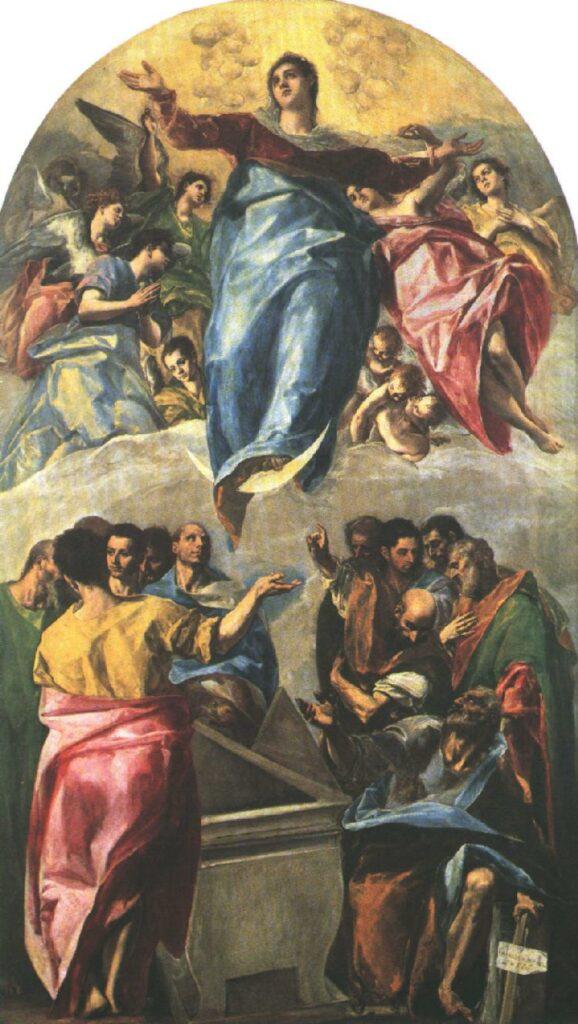 La Asunción de la Virgen del El Greco