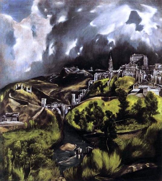 La Vista de Toledo (c. 1595)