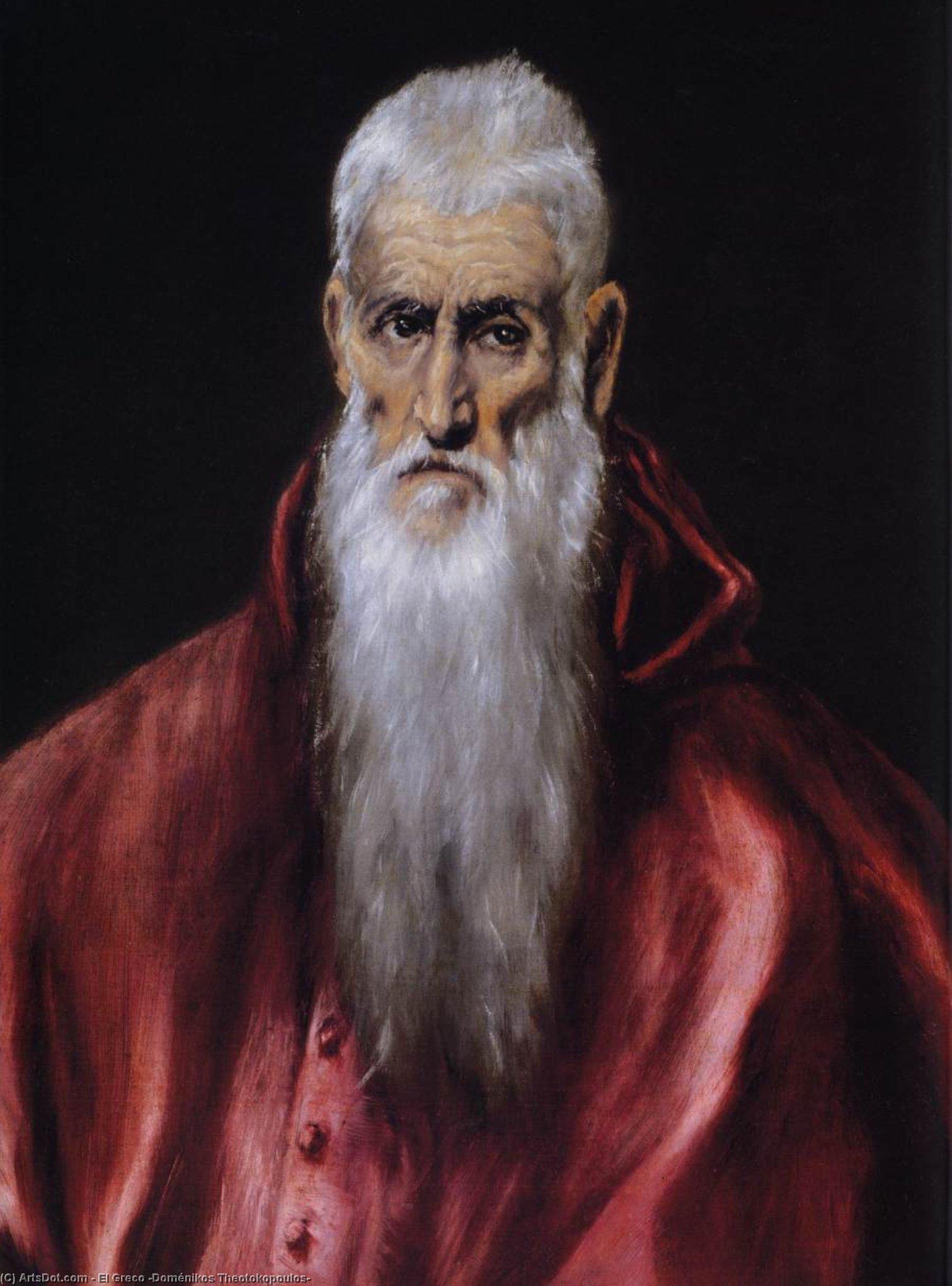 San Jerónimo como erudito