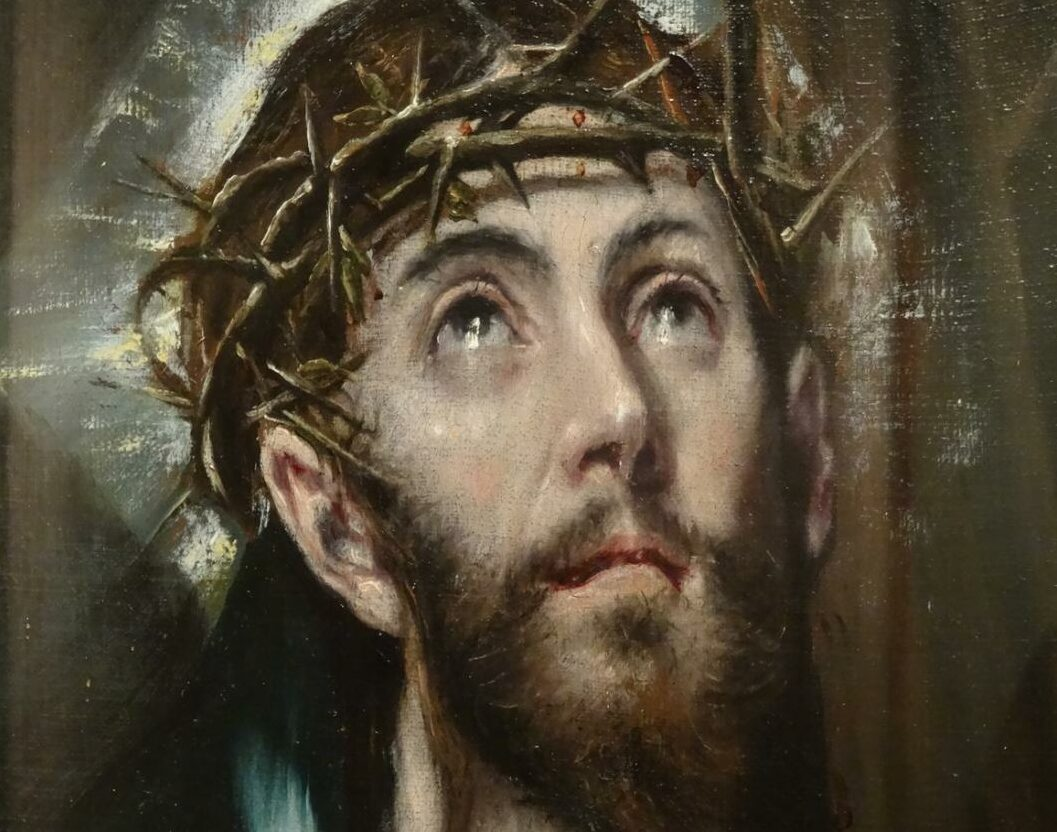 Cristo cargando la cruz