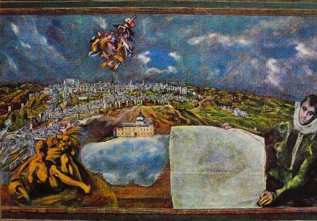 Plano de Toledo del Greco