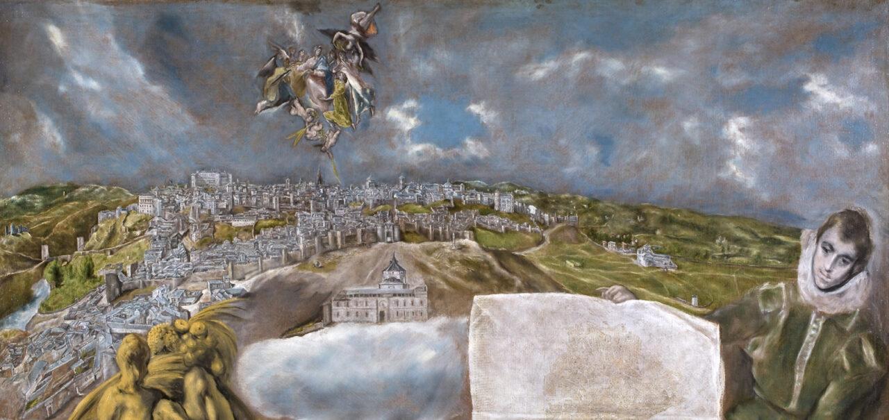 Vista y Plano de Toledo - El Greco